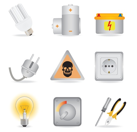 volts: Universal icons. Vector illustration  Illustration