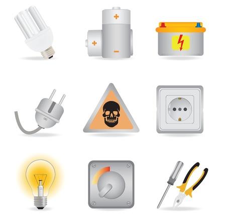 Universal icons. Vector illustration