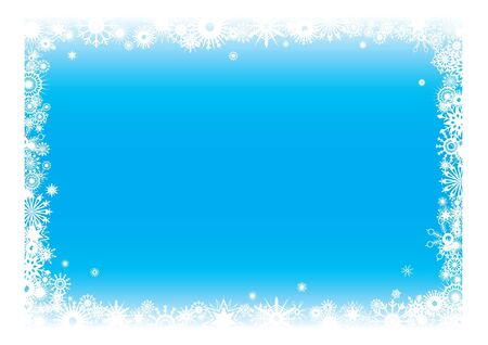 Snowflakes background. Vector illustration  Vector