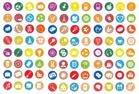 Web pictogrammen. Vector illustratie