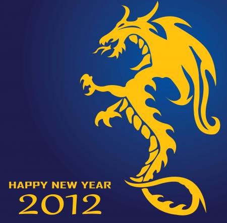 year of the dragon: Dragon.