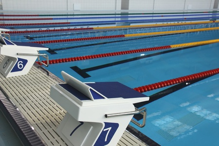 piscina olimpica: Con piscina