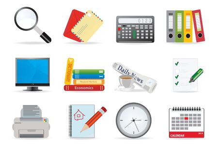 Professional icons series Vetores