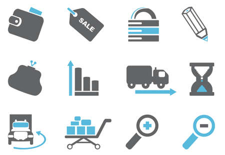 Internet and website icons  Vector set Vector