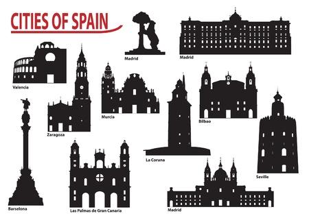 les plus: Le b�timent le plus c�l�bre de la ville de l'Espagne