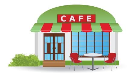 Cafe.  illustration Stock Vector - 17009645