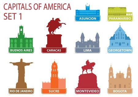 brazil symbol: Capitals of America.