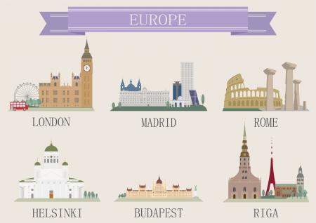 madrid  spain: City symbol. Europe