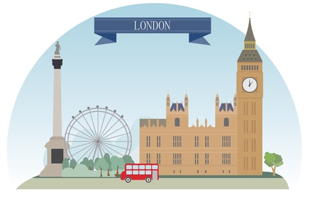 London, United Kingdom Vector for you design