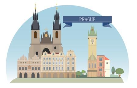 Prag, Tschechische Republik Für Sie design Standard-Bild - 20639569