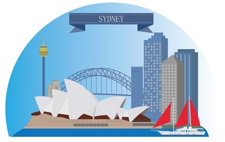 Sydney, Australia  For you design  イラスト・ベクター素材