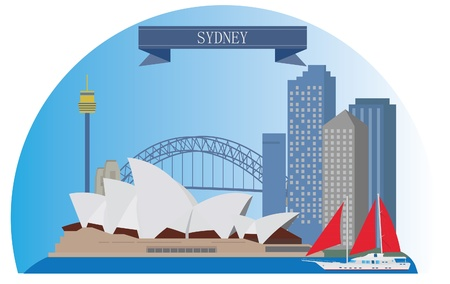 sydney: Sydney, Australia  For you design Illustration
