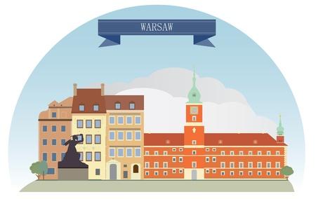 Warsaw, Poland Stock Vector - 21075113