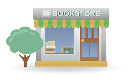 book shop: Bookstore  Small shop  For you design