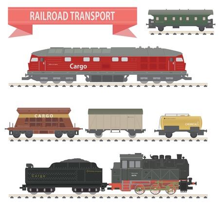 Treinen Railroad set voor u ontwerpen
