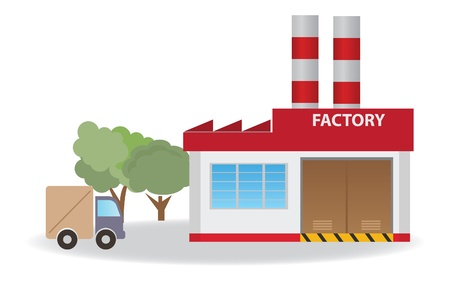 industrialization: Factory   Illustration