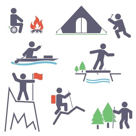Tourism  Set icons