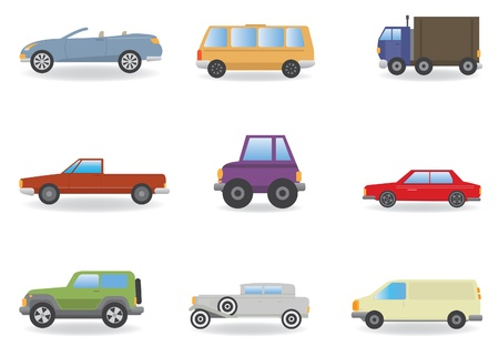 Cars  Vector set for you design Vector