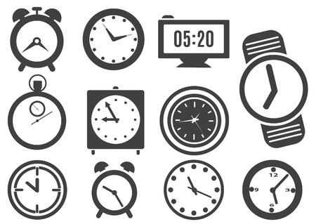 Clock  Vector set for you design