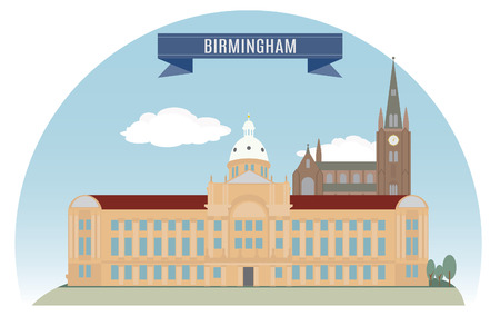 Birmingham, England  For you design Vector