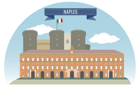 Naples, Italy  For you design Stock Vector - 22644572