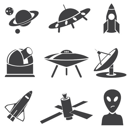 Space  Vector set for you design Stock Vector - 22644857