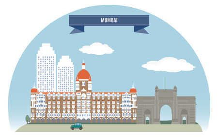 Mumbai, India  For you design  Vector
