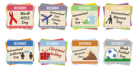 chronology: World holidays  December  For you design
