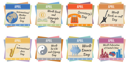 event planning: World holidays  April  For you design