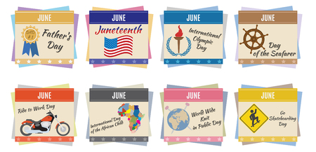chronology: World holidays  June  For you design