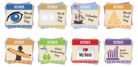chronology: World holidays  October  For you design