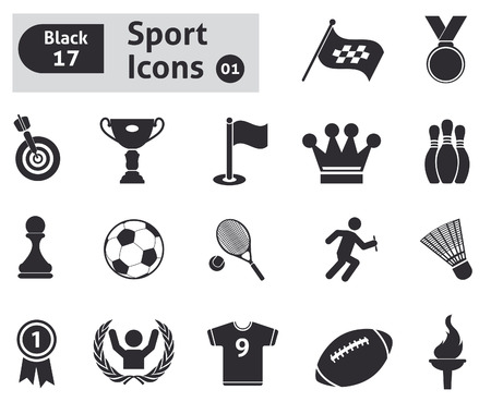 Sport icons  Vector set for you design Vector