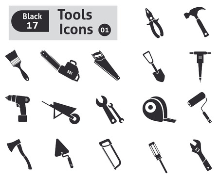 coating: Tools icons  Vector set for you design