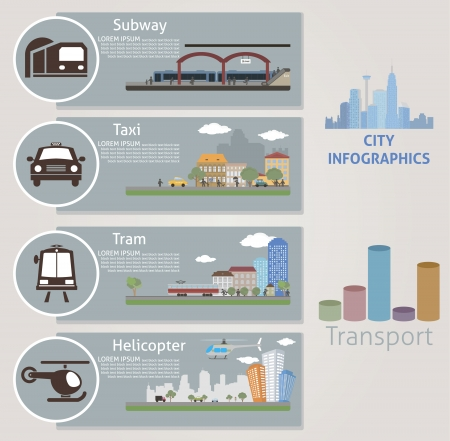 subway road: City  Transport  Vector for you design
