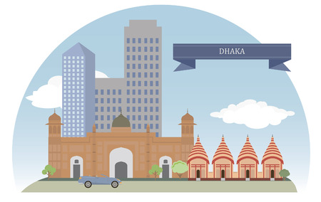 bangladesh: Dhaka, Bangladesh  For you design Illustration