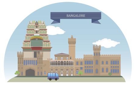 Bangalore, India Vector