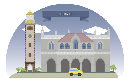 colombo: Colombo, Sri Lanka  For you design Illustration