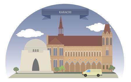 Karachi, Pakistan  For you design Vector