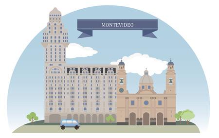 uruguay: Montevideo, Uruguay Illustration