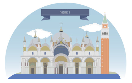 Venice, Italy Vector