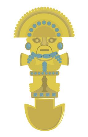 social history: Incas decoration  For you design Illustration