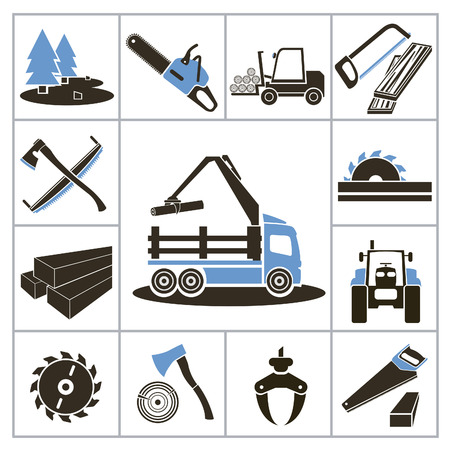 cr: Woodworking industry icons  For you design