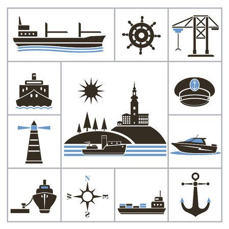 industrial ship: Ship  Set for you design