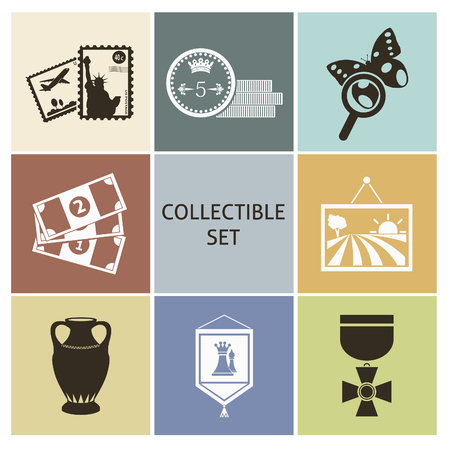 valuable: Collecting. Set for you design