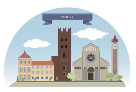 Verona, Italy. For you design Vector