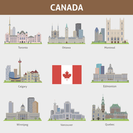 a place of life: Famous places of major cities in Canada