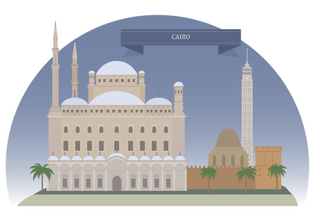 middleeast: Cairo, Egypt. Capital of Egypt and the largest city in the Middle-East in Africa
