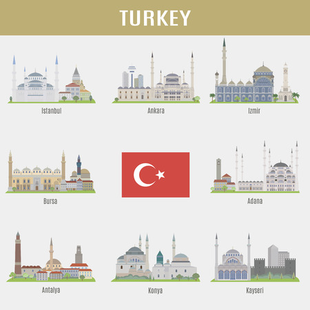 turkey: Cities of Turkey. Famous Places Turkish cities