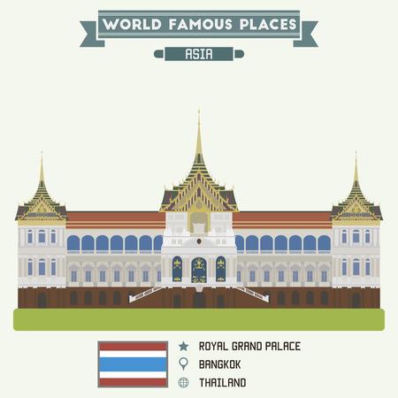 grand palace: Royal Grand Palace. Bangkok, Thailand
