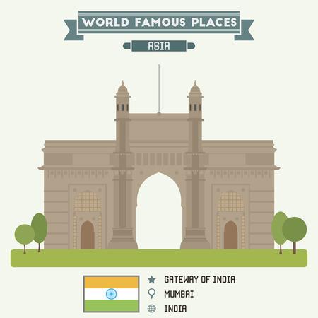 gateway: Gateway of India. Mumbai, India